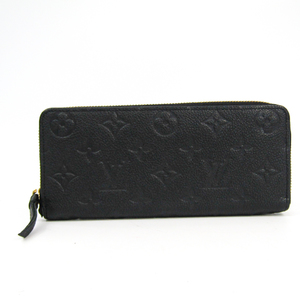 ルイ・ヴィトン(Louis Vuitton) モノグラムアンプラント ポルトフォイユ・クレマンス M60171 レディース モノグラムアンプラント 長財布(二つ折り) ノワール