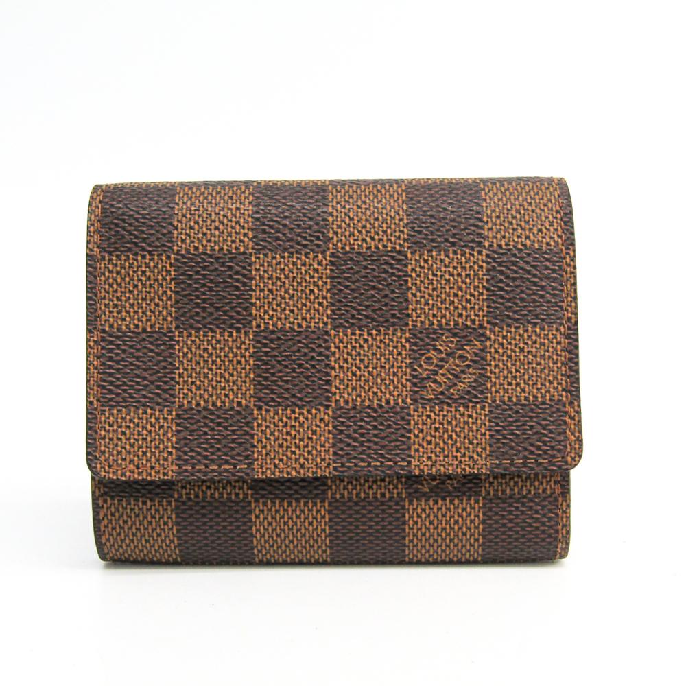 ルイ・ヴィトン(Louis Vuitton) ダミエ N62920 アンヴェロップ・カルト ドゥ ヴィジット ダミエキャンバス 名刺入れ エベヌ