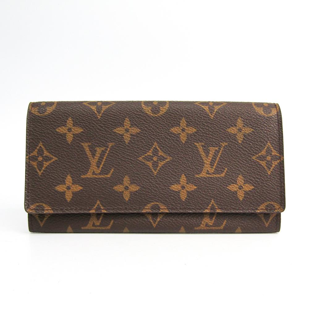 ルイ・ヴィトン(Louis Vuitton) モノグラム ポルト円3カルトクレディ M61818 ユニセックス モノグラム 札入れ(二つ折り) モノグラム