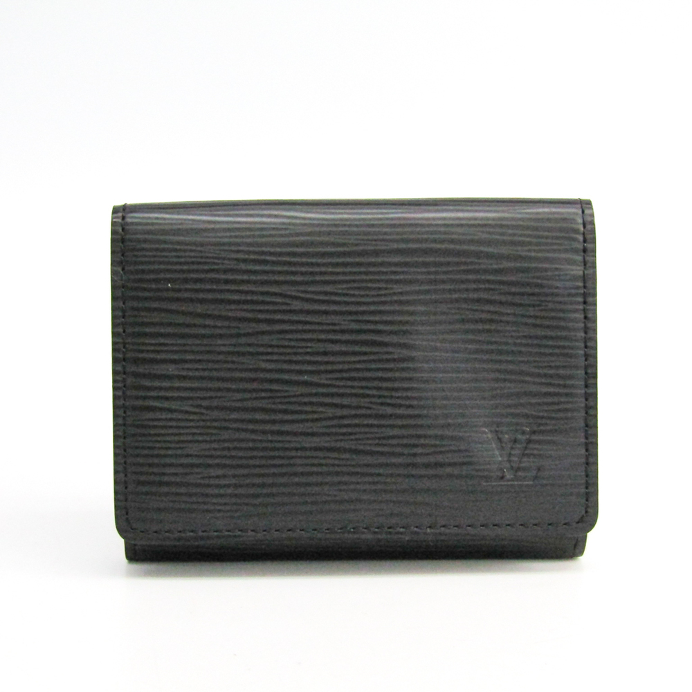 ルイ・ヴィトン(Louis Vuitton) エピ アンヴェロップカルトドゥヴィジット M56582 エピレザー カードケース ノワール