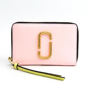 マーク・ジェイコブス(Marc Jacobs) スナップショット/Snapshot SMALL STANDARD M0013354  型押しカーフ 中財布(二つ折り) ベージュ,ライトグリーン,ライトピンク,ライトパープル