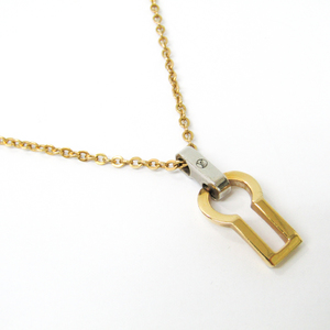 ルイ・ヴィトン(Louis Vuitton) メタル ネックレスチェーン (ゴールド,シルバー) ペンダント・セリュール M68112