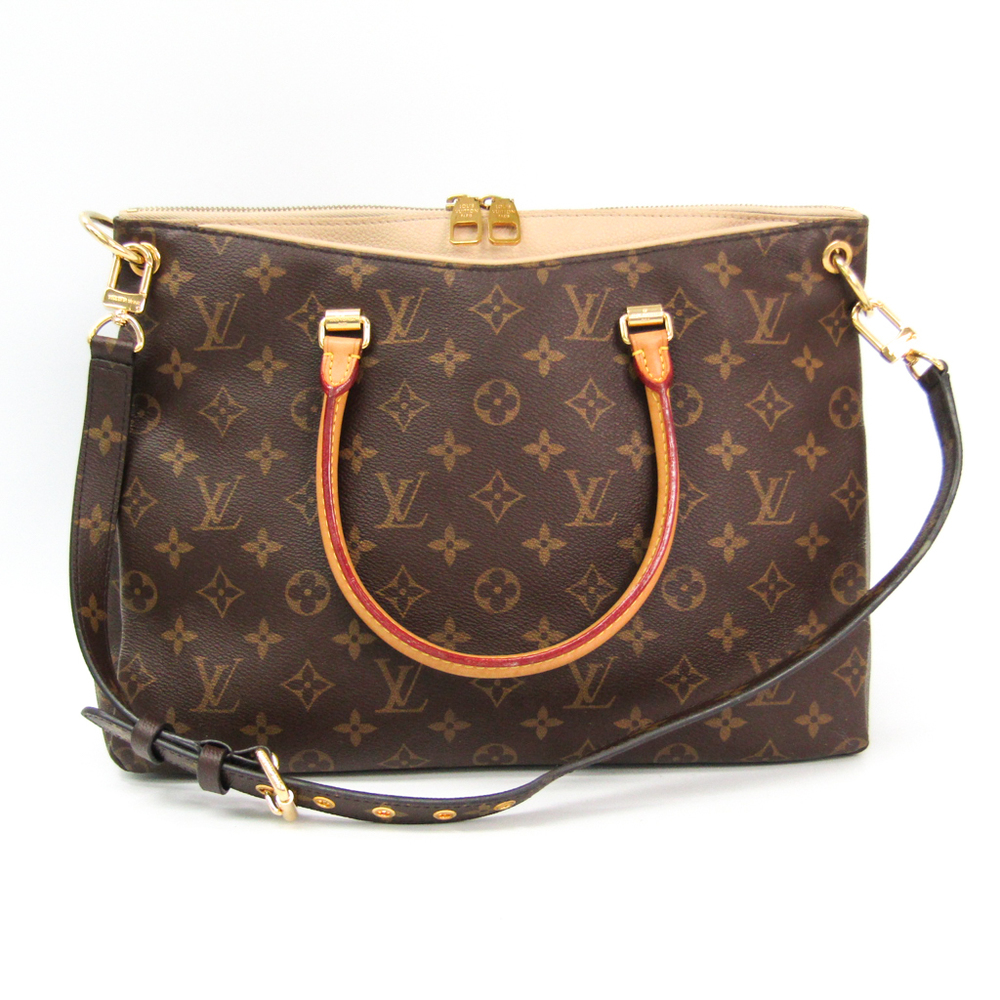 Louis Vuitton Monogram Pallas M50066 Women's Handbag,Shoulder Bag Dune,Monogram