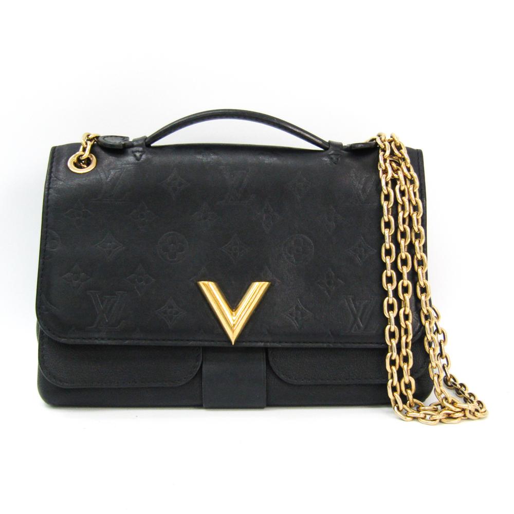 ルイ・ヴィトン(Louis Vuitton) モノグラム ヴェリー・チェーン バッグ M42899 レディース ショルダーバッグ ノワール