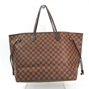 Louis Vuitton Damier Neverfull GM N51106 Women's Tote Bag Ebene
