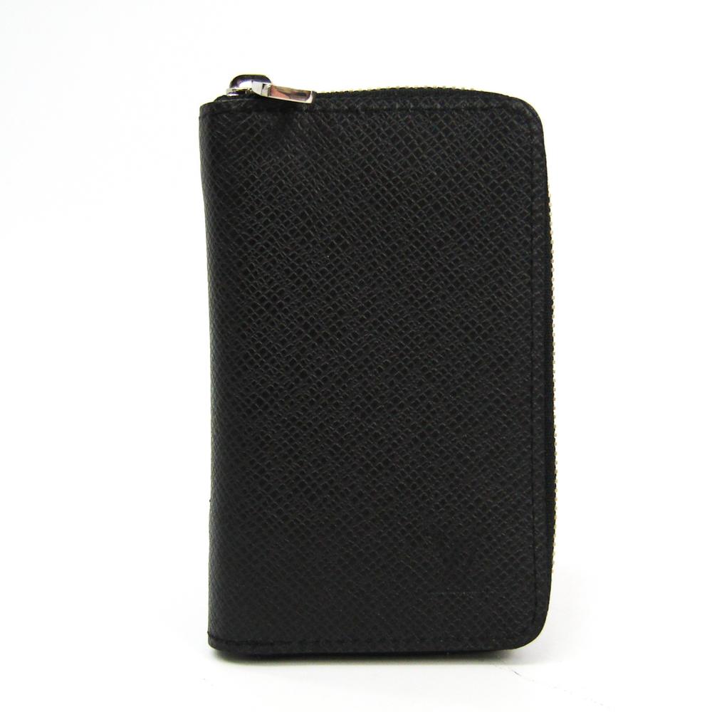 Louis Vuitton Taiga M32832 Zippy Coin Purse Vertical Men's Taiga Leather Coin Purse/coin Case Ardoise