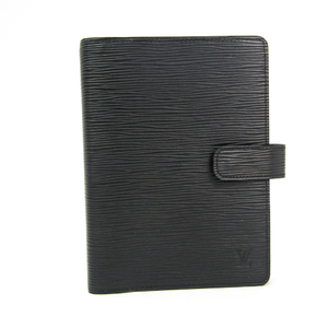 Louis Vuitton Epi Planner Cover Noir Agenda MM R20042