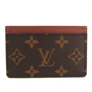 Louis Vuitton Monogram Monogram Card Case Monogram Simple card case M61733