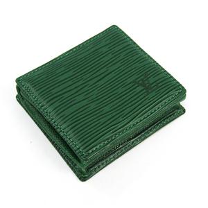 ルイ・ヴィトン(Louis Vuitton) エピ M63694 エピレザー 小銭入れ・コインケース ボルネオグリーン