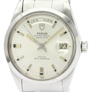 Tudor Oyster Prince Date Day Automatic Stainless Steel Men's Dress Watch 7017/0