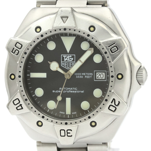 Tag Heuer Professional Automatic Stainless Steel Men's Sports Watch WS2110