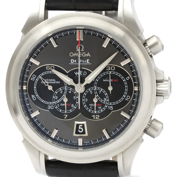 Omega De Ville Automatic Stainless Steel Men's Sports Watch 422.13.41.52.06.001