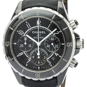 シャネル(Chanel) J12 自動巻き セラミック メンズ スポーツウォッチ H0938