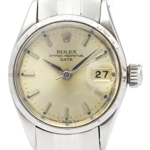Rolex Automatic Stainless Steel Women's Dress Watch 6517