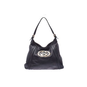 Gucci GG Canvas PVC Bag Black