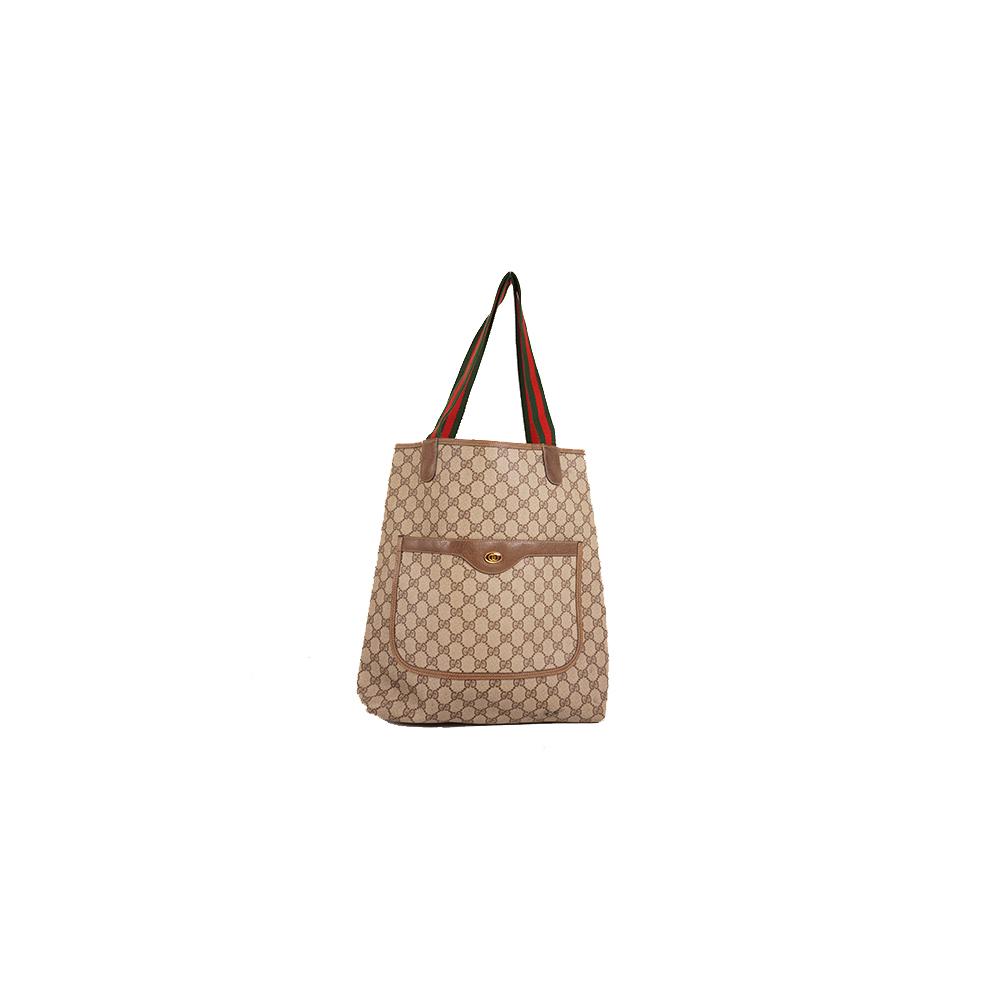 Gucci Sherry Line Totebag 39.02.003 Women,Men,Unisex GG Supreme Handbag,Shoulder Bag,Tote Bag Beige
