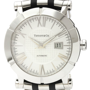 Tiffany Atlas Automatic Rubber,Stainless Steel Men's Dress Watch Z1000.70.12A21A00A
