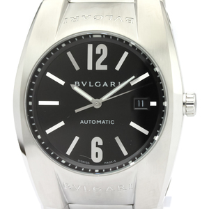 【BVLGARI】ブルガリ エルゴン ステンレススチール 自動巻き メンズ 時計 EG40S