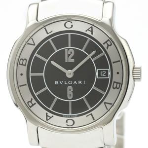 Bvlgari Solotempo Quartz Stainless Steel Men's Dress Watch ST35S
