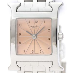 Hermes Heure H Quartz Stainless Steel Women's Dress Watch HH1.710
