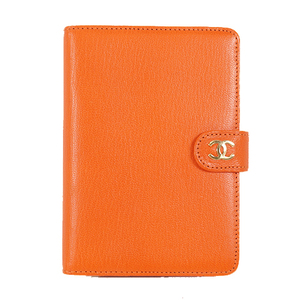 Chanel Planner Cover Orange  Notebook cover