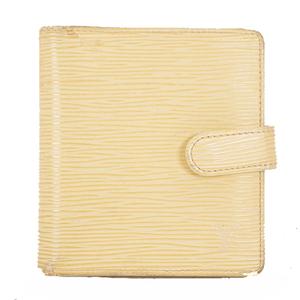 ルイヴィトン 二つ折り財布 エピ ポルトビエコンパクト M6355A