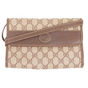 Gucci GG  Supreme 2WAY Bag 004.39.0265 Women's GG Supreme Clutch Bag,Shoulder Bag Beige