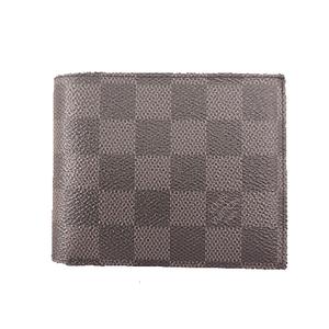 ルイヴィトン 二つ折り財布 グラフィットポルトフォイユアメリゴ N41635