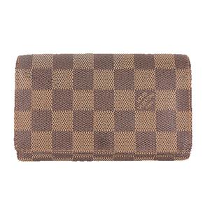ルイヴィトン 財布 ダミエ ポルトモネビエトレゾール N61730