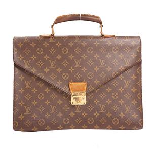 Louis Vuitton Monogram M53331 Men's Briefcase Brown,Monogram