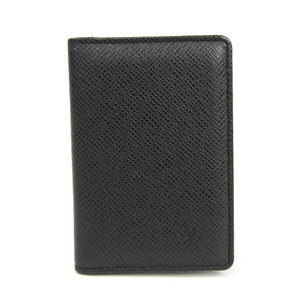 Louis Vuitton Taiga Taiga Leather Card Case Ardoise Organizer de poche M30512