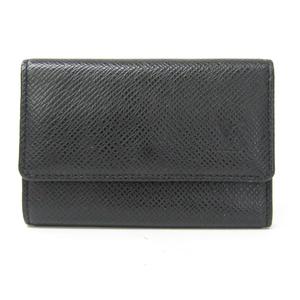 Louis Vuitton Taiga M30532 6 Key Holder Men's Taiga Leather Key Case Ardoise