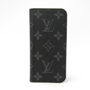 Louis Vuitton Monogram Eclipse Phone Flip Case For IPhone 6 Monogram Eclipse iPhone 6 Folio M61699