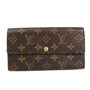 Louis Vuitton Monogram M61725 Monogram Long Wallet (bi-fold) Monogram