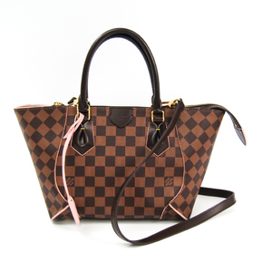 Louis Vuitton Damier Caissa Tote PM N41554 Women's Tote Bag Rose Ballerine