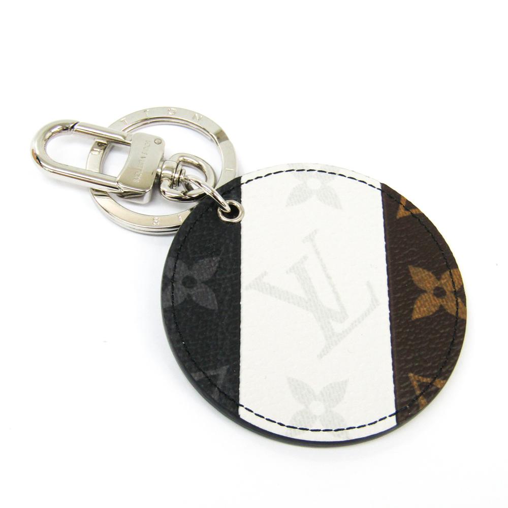 Louis Vuitton Monogram Multicolore Illustre Bag Charm M64169 Keyring (Black,Brown,White)