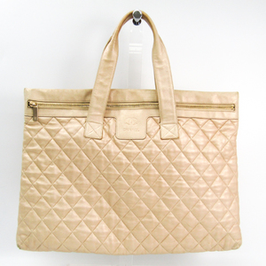 Chanel Coco Cocoon Leather Handbag Gold