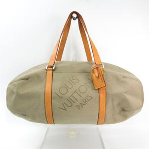 Louis Vuitton Damier Geant Attaquant M93065 Men's Boston Bag Sable