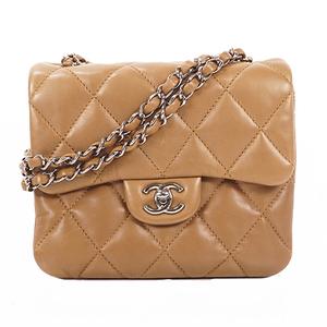 Chanel Matelasse Chain Shoulder Bag Women's Shoulder Bag Brown,Olive