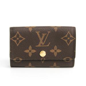 Louis Vuitton Monogram M62630 6 Key Holder Women's Monogram Key Case Monogram