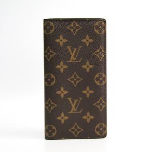 Louis Vuitton Monogram Portefeuille  · Brazze  M66540 Men's Monogram Long Wallet (bi-fold) Monogram
