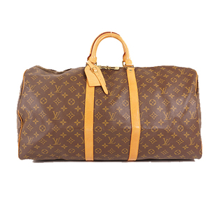 Louis Vuitton Monogram M41424 Unisex,Women,Men Boston Bag Brown