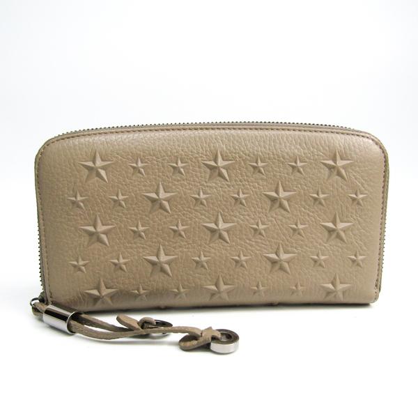 ジミーチュウ(Jimmy Choo) FILIPA J000080326001 レディース  カーフスキン 長財布(二つ折り) ベージュ