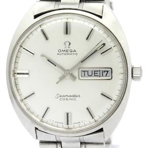 【OMEGA】オメガ シーマスターデイデイト ステンレススチール 自動巻き メンズ 時計 166.036