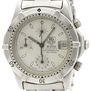 Tag Heuer Professional Automatic Stainless Steel Men's Sports Watch 162.206