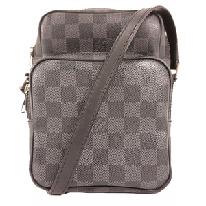 Auth Louis Vuitton Damier Graphite Rem N41446