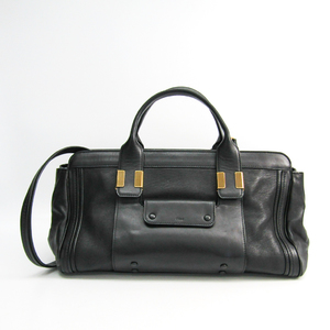 Chloé Alice Women's Leather Handbag Black