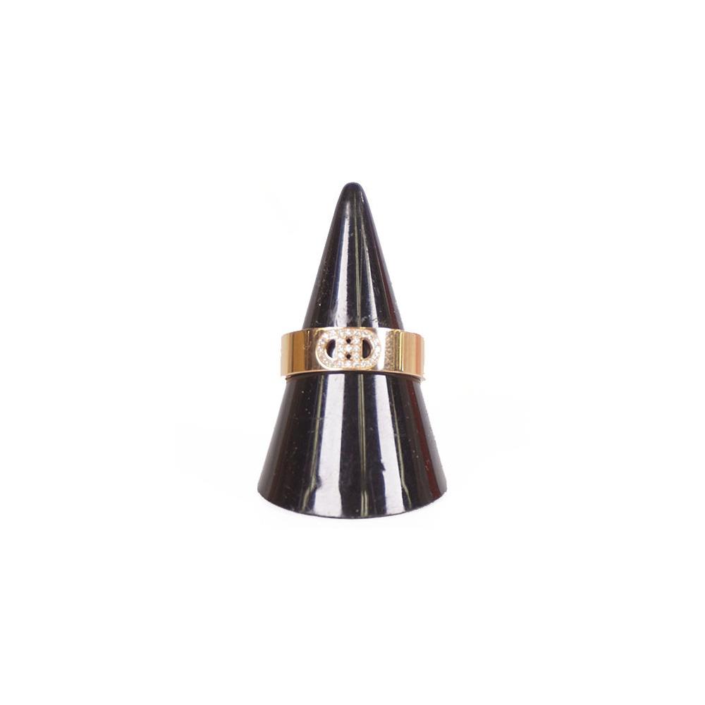 エルメス リング Hダンクル K18PG ダイヤ #54 指輪