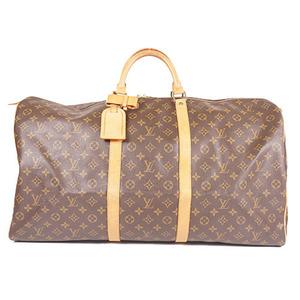 Auth Louis Vuitton Boston Bag Monogram Keepall 60 M41422
