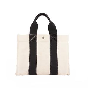 Hermes Bora Bora TotePM Unisex,Women,Men Canvas Handbag,Tote Bag Ivory